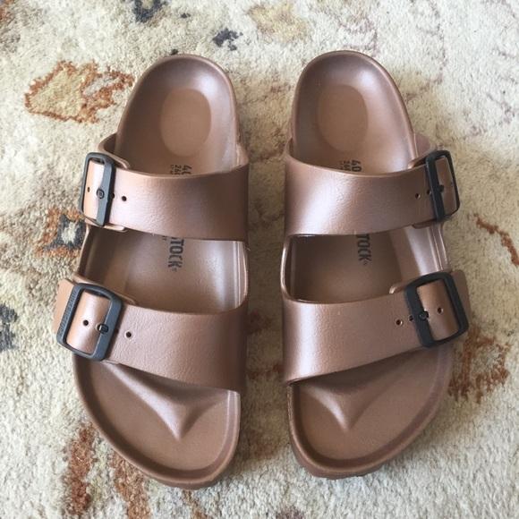 EUC Arizona EVA Women's Birkenstock Sandals Size 6. Worn